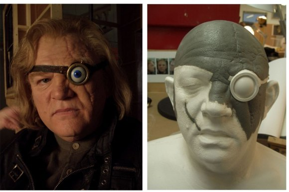 Brendan Gleeson make up and sculpt