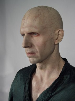 Ralph Fiennes in make up