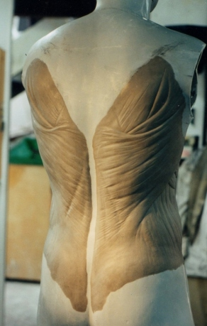 prosthetic back muscle sculpt